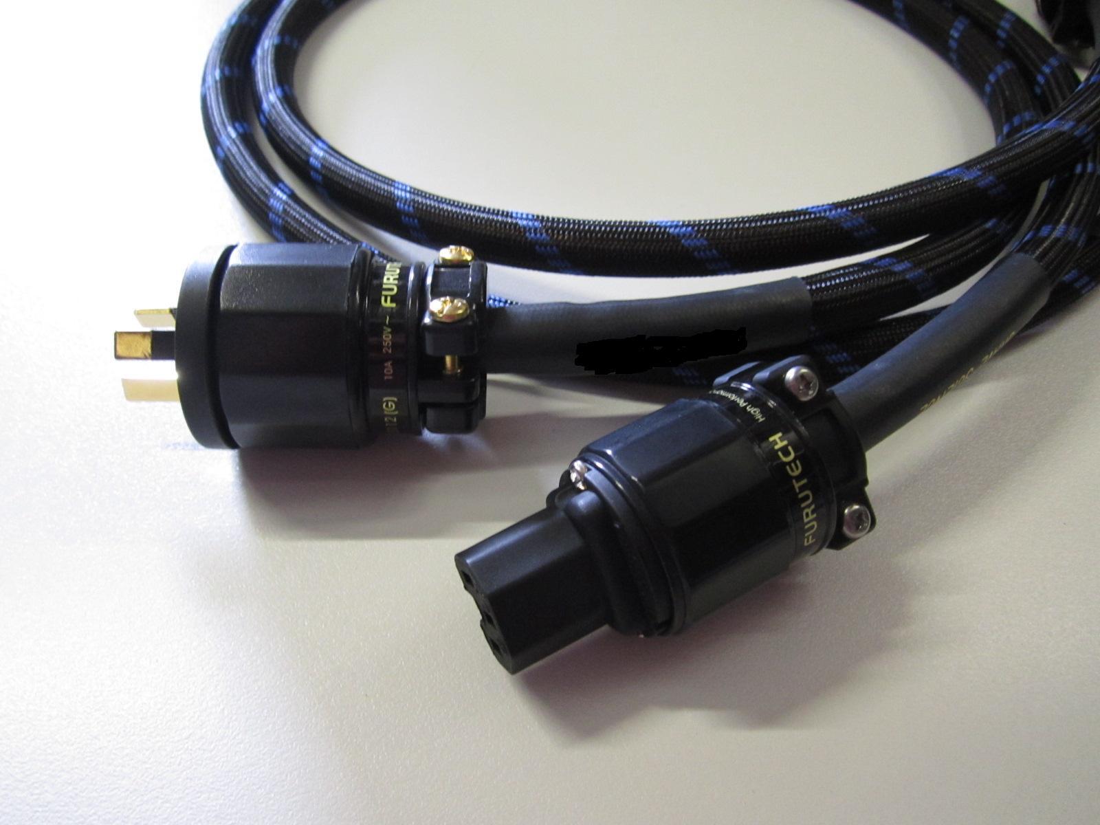 Signature Shielded Power Cable   Audio Principe